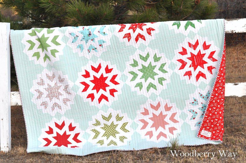 Woodberry Way - First Snow Quilt by Alli Jensen.jpg