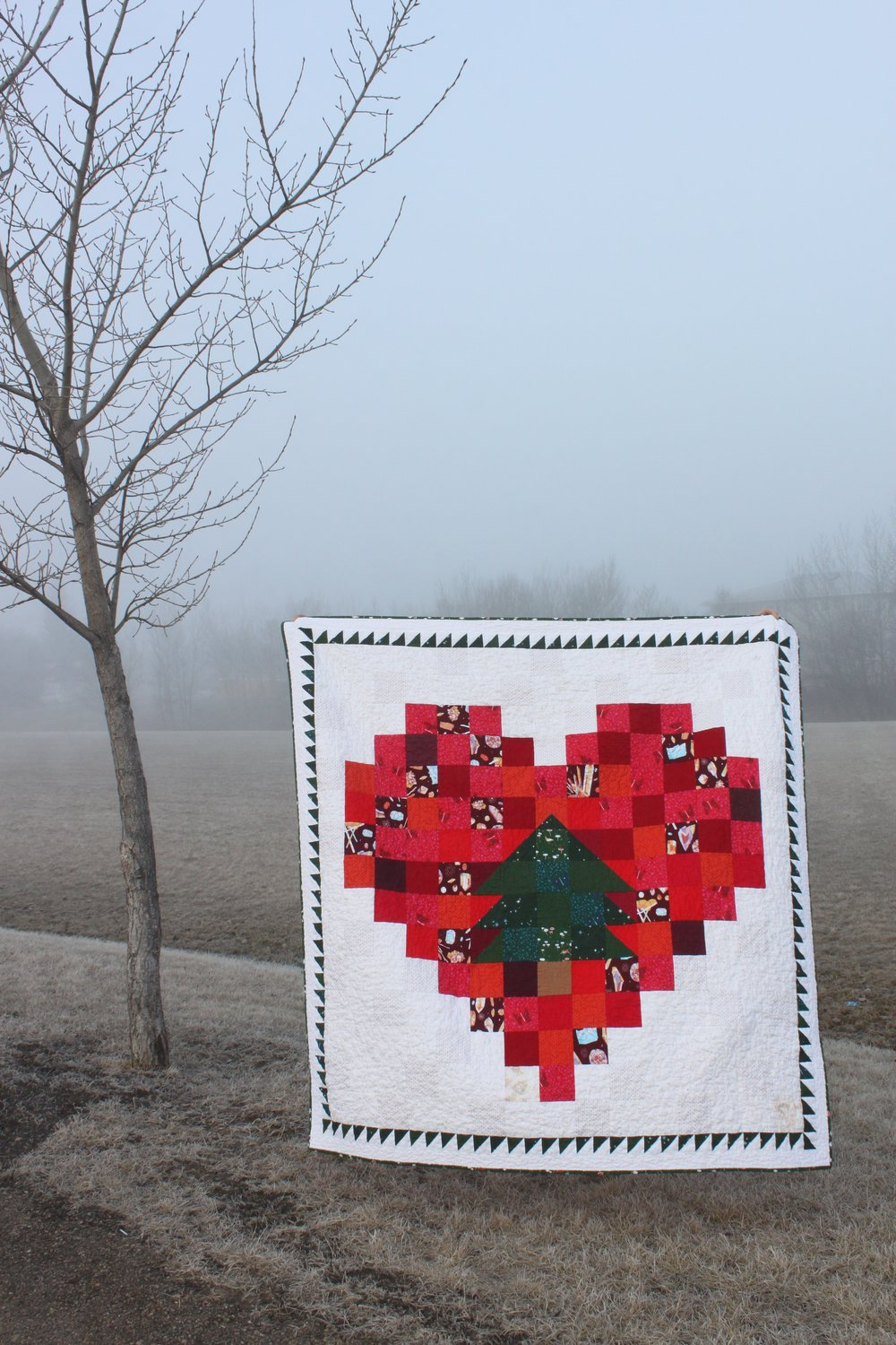 Daydreams of Quilts - Pixel Tree in a Pixel Heart by Anita LaHay 2.png