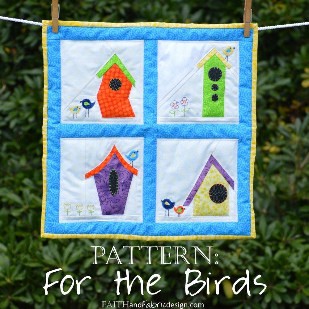 Faith and Fabric - Bird Houses by Jen Frost.jpg