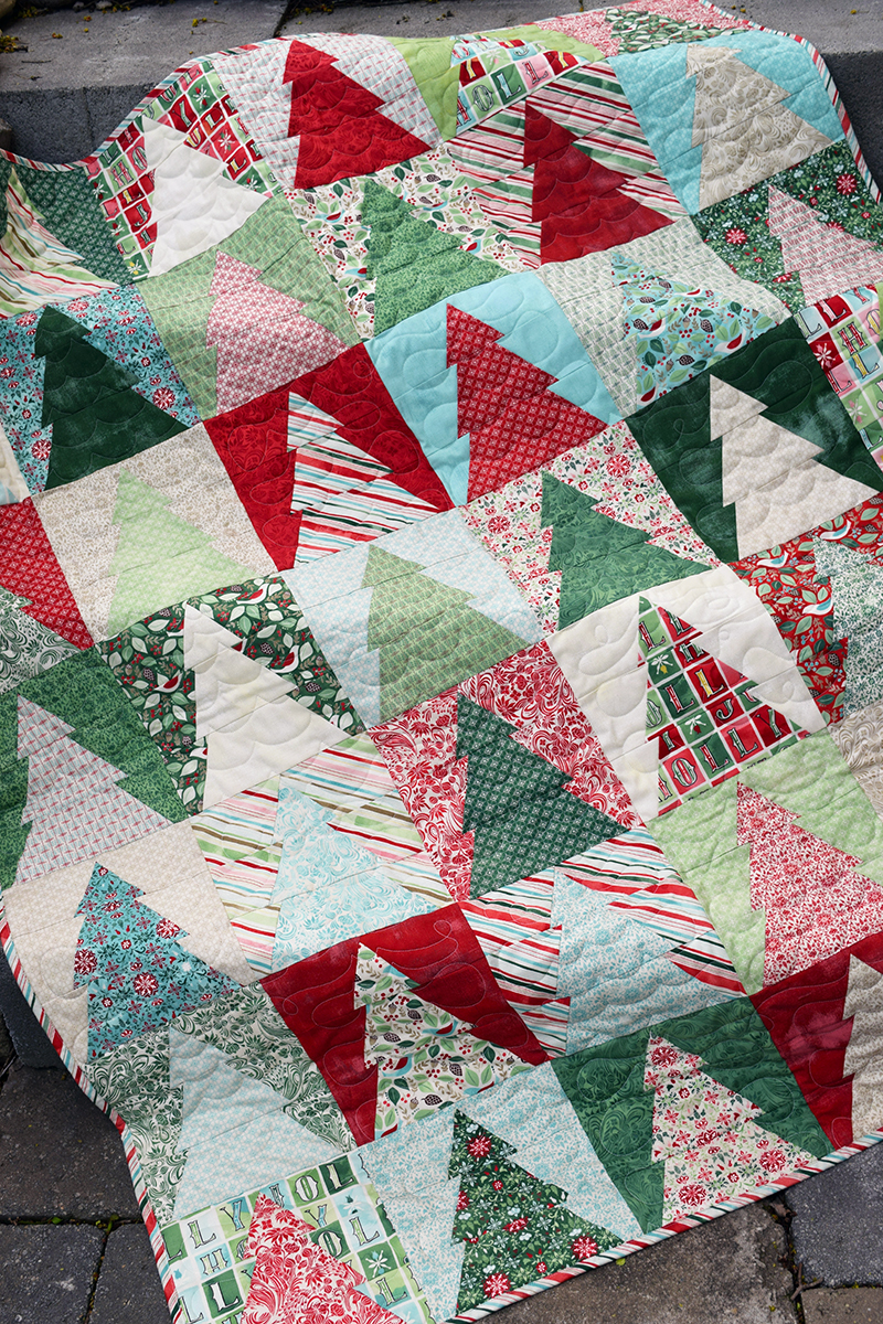 The Cloth Parcel - Woodland Wander Quilt Small by Audrey Mann.jpg