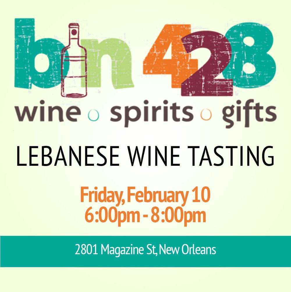 bin 428 Wine Tasting