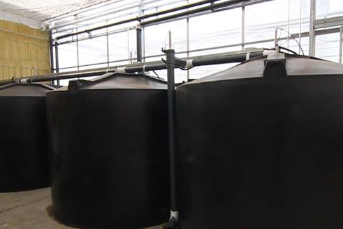 Recuperation d'eau pour les serres