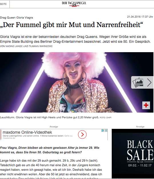 Tagesspiegel - German Newspaper