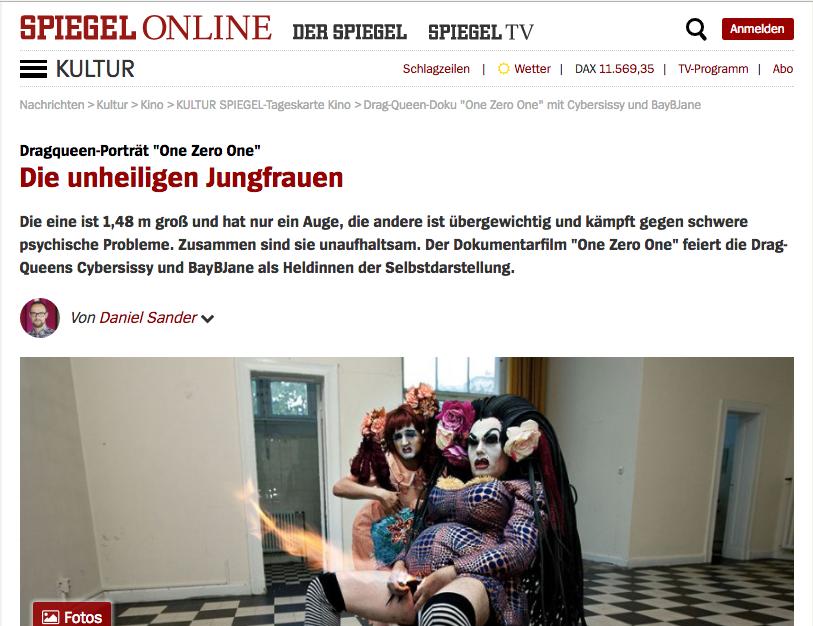 Spiegel online - German newspaper