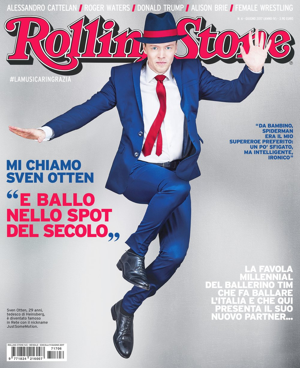 Sven Otten - July 2017 - Cover Rolling Stone Magazine Italy