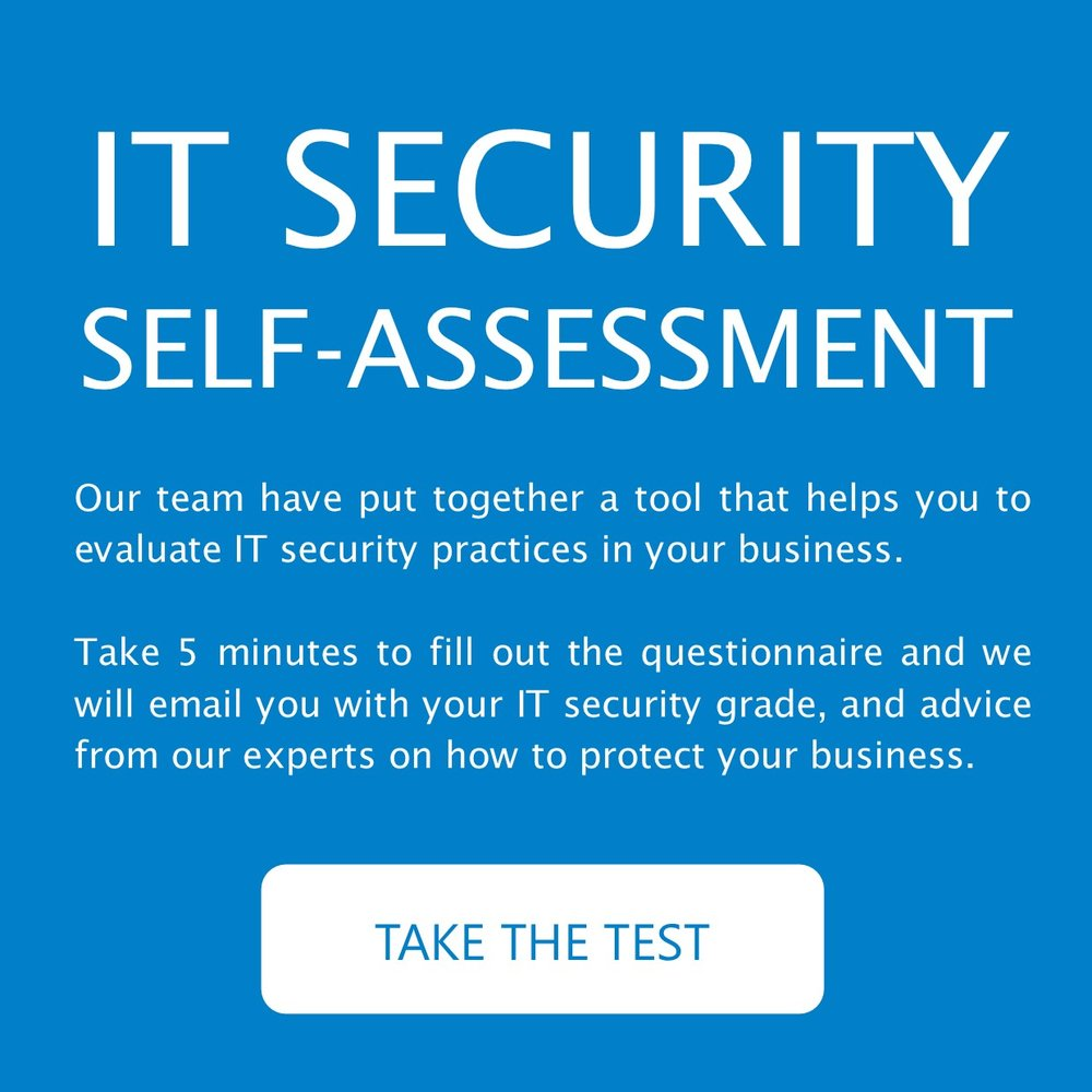 IT Security Self Assessment