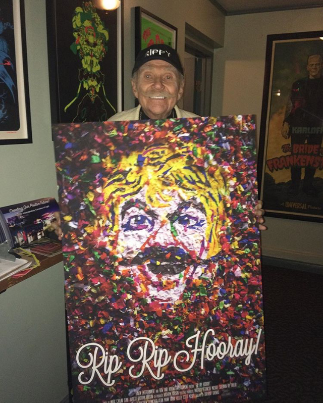 Photo from Rip Taylor's Instagram