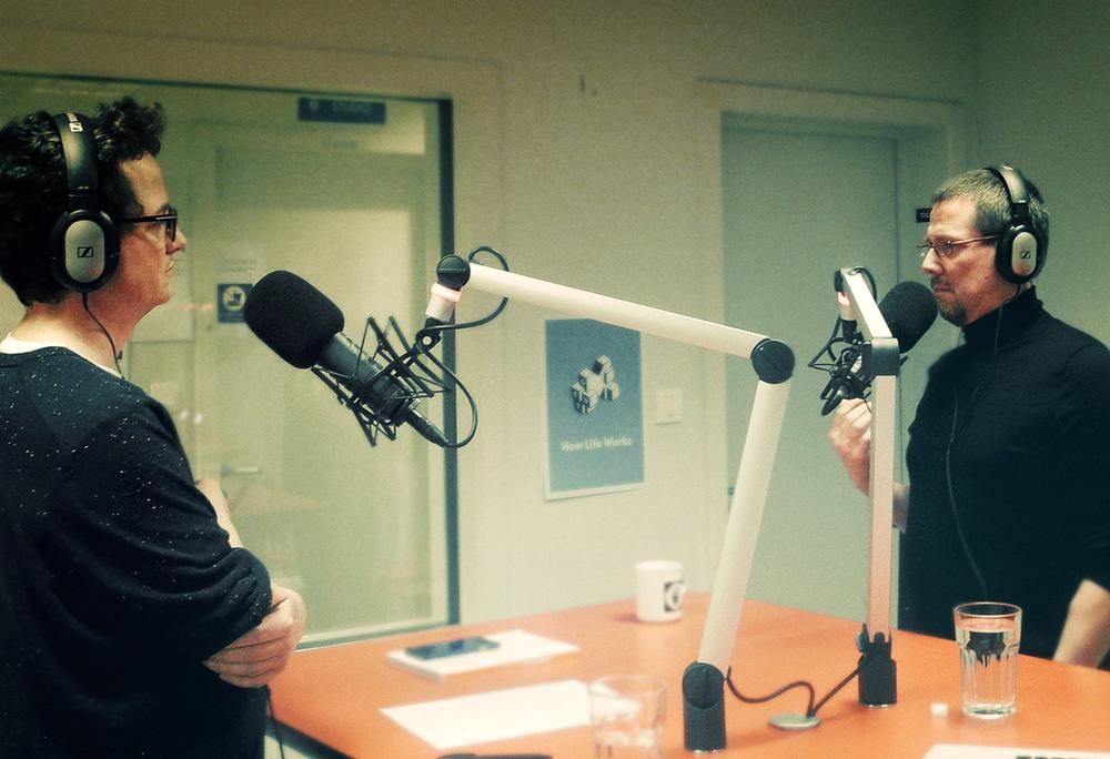Bart De Waele & Fredo De Smet in de REC opnamestudio