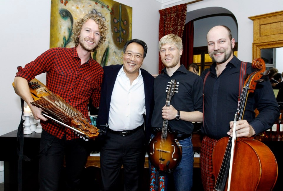 Ceremony for Polar Prize winner Yo-Yo Ma (2012)