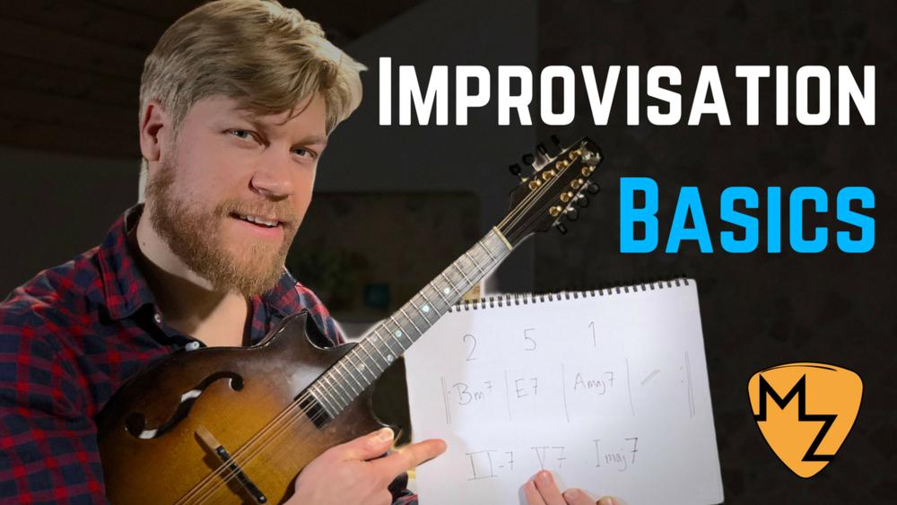 Basic Jazz Improvisation for the 2-5-1