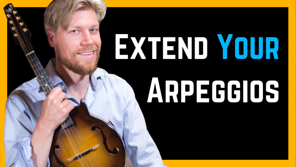 Arpeggio Lick with extensions in A-minor