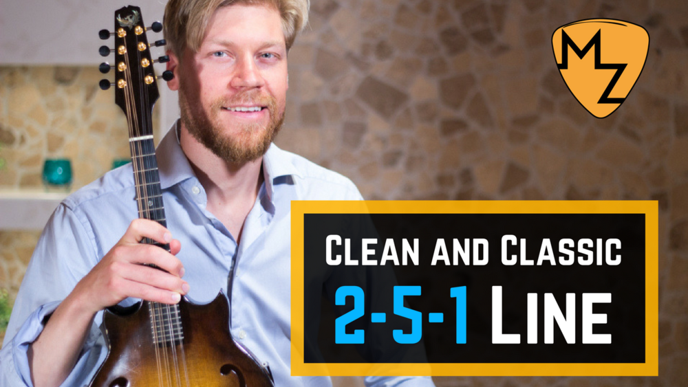 Spell out the 2-5-1 with chord notes