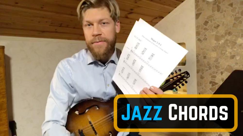 Jazz Mandolin Chords