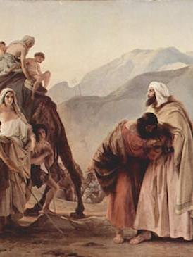 Esau Surprises Jacob