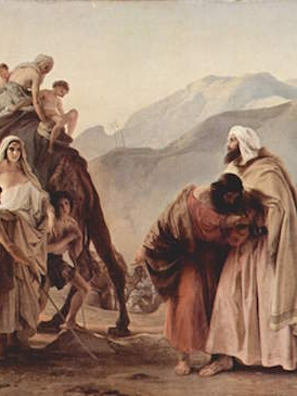 Esau Surprises Jacob