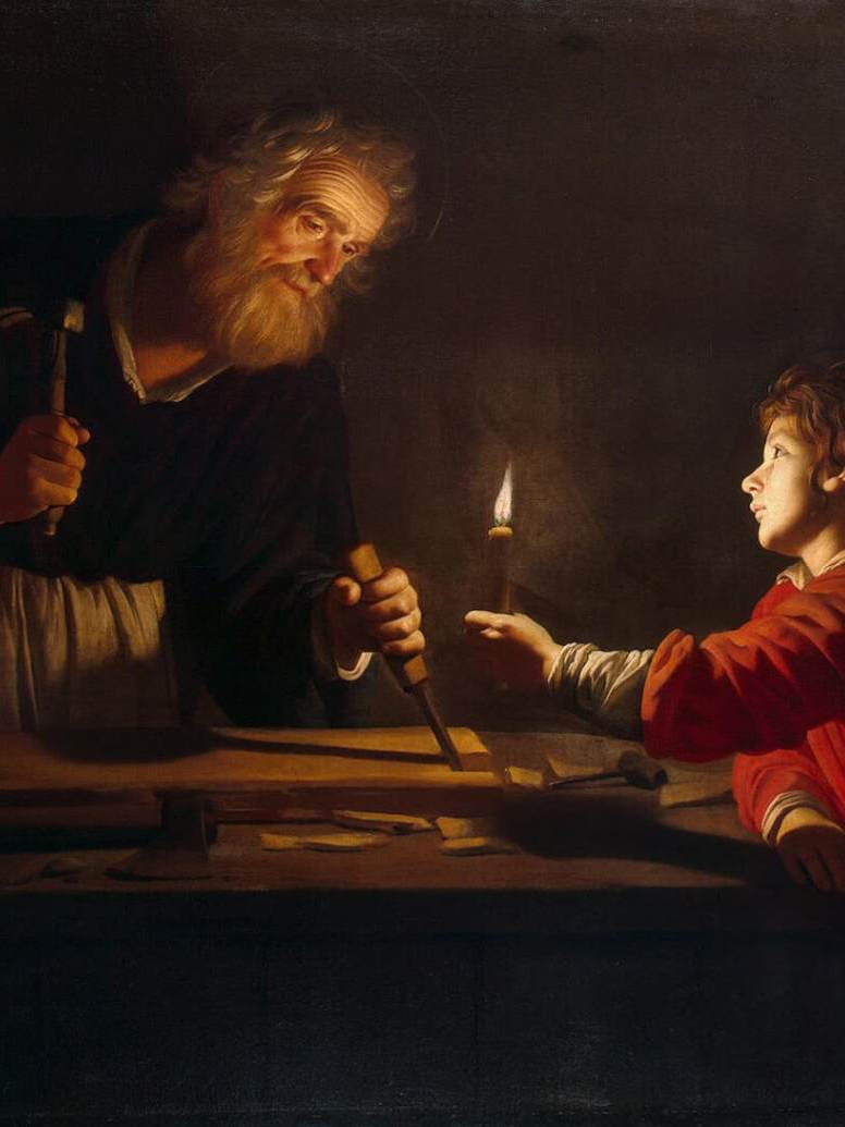Joseph's Leadership of Jesus