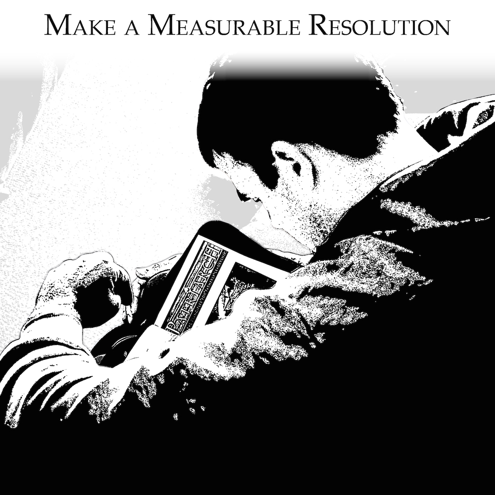 Men make an active, measurable resolution to accomplish before the next time the group meets.