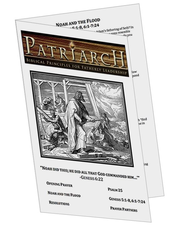 Genesis 5-7  - Printable Download