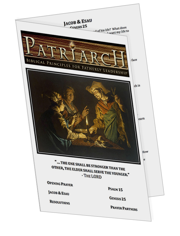 Genesis 25  - Printable Download