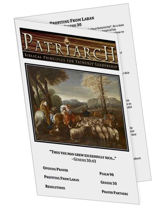 Genesis 30  - Printable Download
