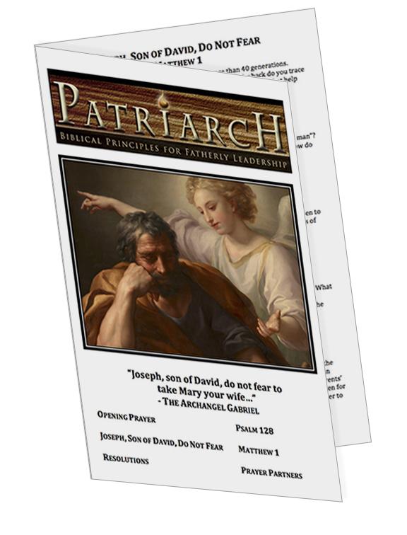 Matthew 1  - Printable Download