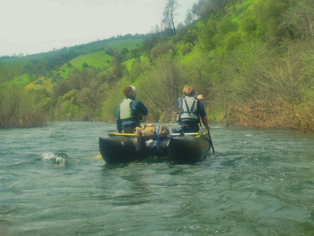 Experimental Rafting
