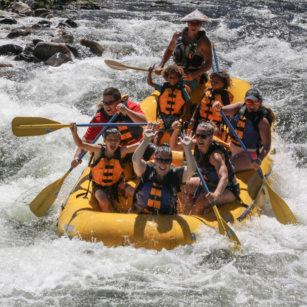 American River - Whitewater rafting for the whole family!