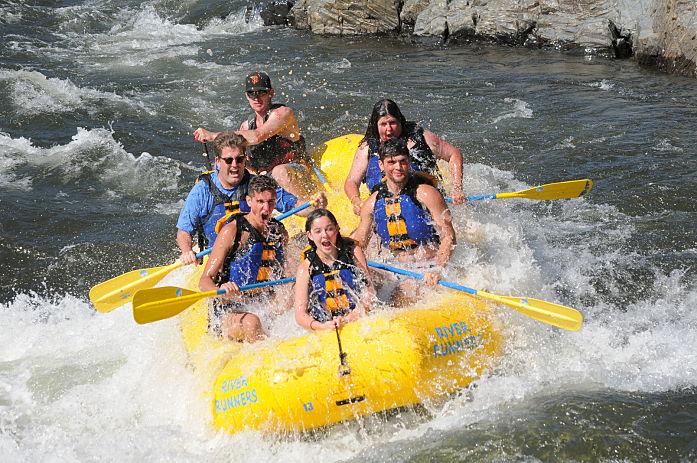 raft near la
