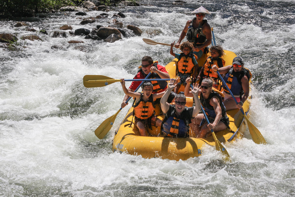 River rafting with River Runners is a perfect California family vacation idea for families with a wide range of age groups and walks of life.