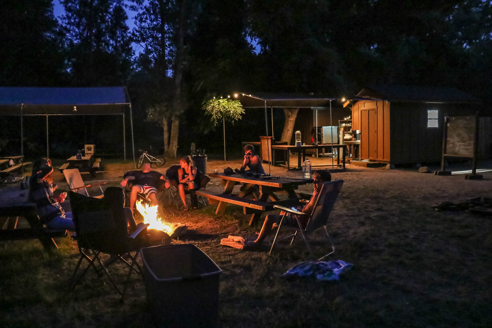 Camp under the stars...Learn more about our location here.