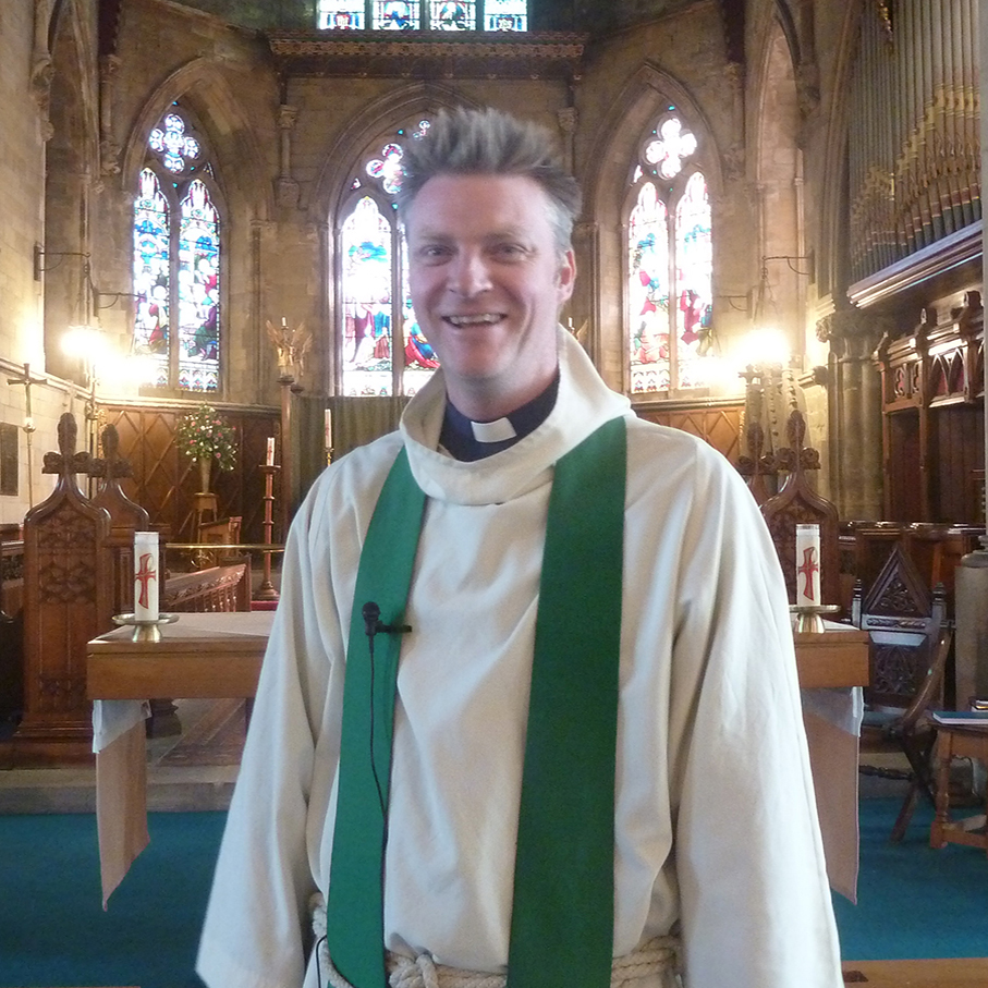 Rev Adam Reed – vicar