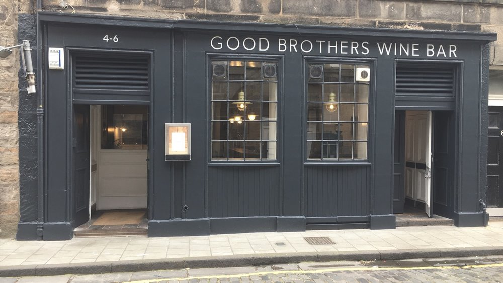 Good Brothers Wine Bar -4-6 Dean Street, Edinburgh, EH4 1LW