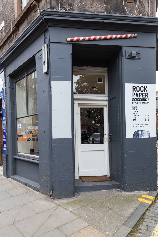 Rock, Paper Scissors Barber
