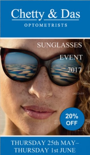Chetty & Das Optometrist Sunglasses Event 2017