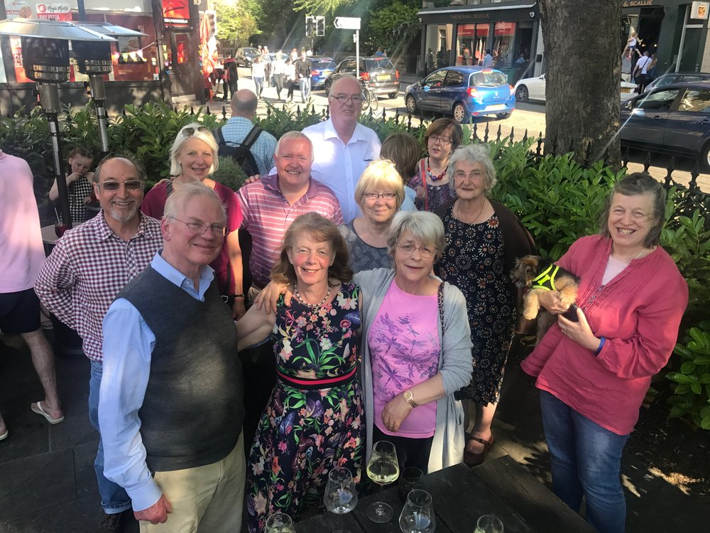 Locals bid farewell to Moira at   The Raeburn