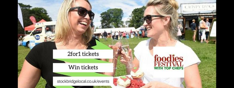 £500 worth of tickets to win, including VIPs, Inverleith Park (4-6 Aug)