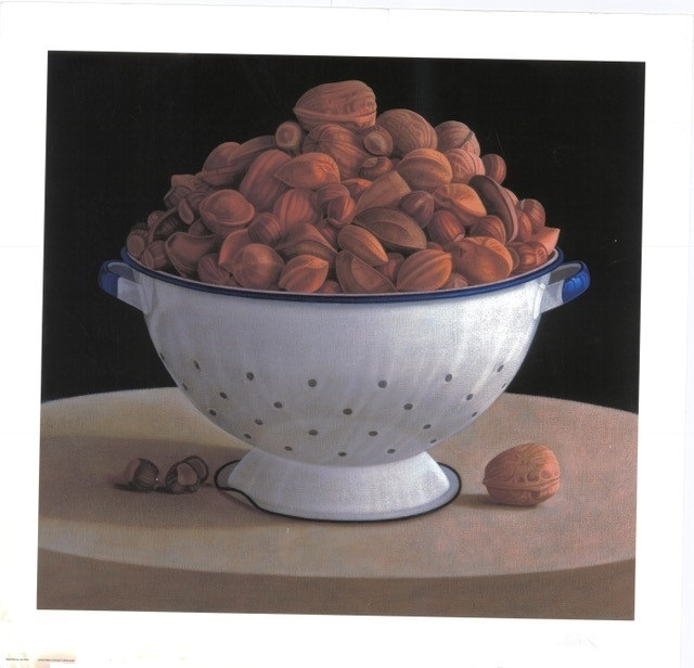 Mixed Nuts (S) By Lisa Smith 62.5cm (w) x 58 (h)  Image 72.5cm (w) x 70 (h) Paper.jpg