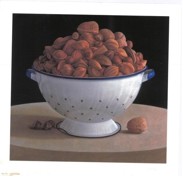 Mixed Nuts (S) By Lisa Smith 62.5cm (w) x 58 (h)  Image 72.5cm (w) x 70 (h) Paper.jpg