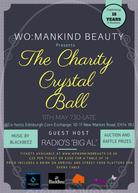 Womankind Edinburgh Charity Crystal Ball