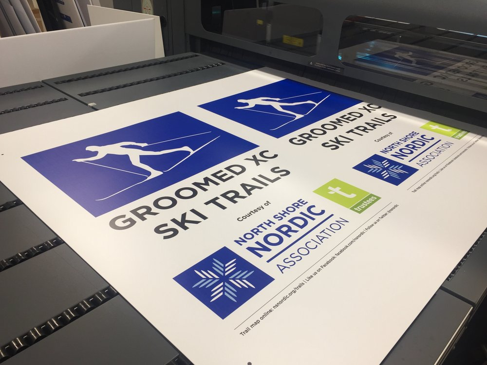 A big thank you to Ollie Parker of Speedpro Wakefield for the fast turnaround on our signs!