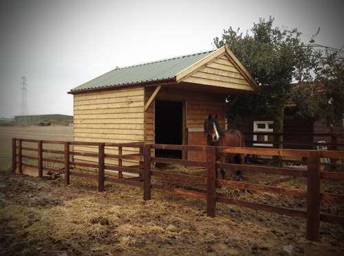 High quality fencing provides a safe, secure environment for a horse or pony