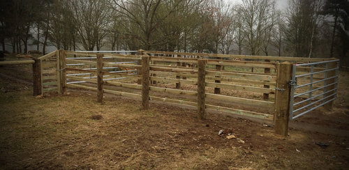 Fencing and gates that both serve the purpose and look good.