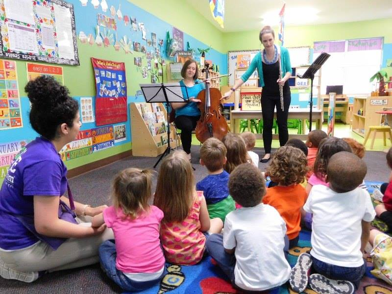 Lexington Flute Teacher with preschool