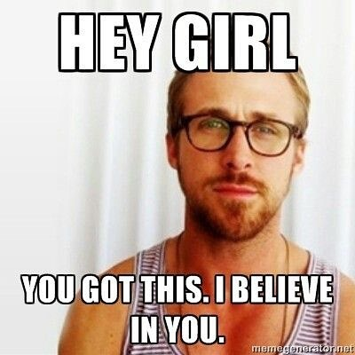 It's All-State Audition day!!! Ryan Gosling believes in you, and so do I 😎 YOU'VE GOT THIS!!! GO FLUTES!! 🎶🎶🎶 #auditionday #allstate #kmea #goflutes #flute #fluteplayer