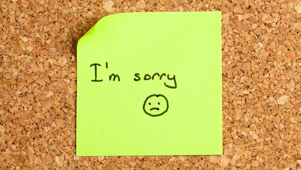 Using Mindfulness to Say I'm Sorry