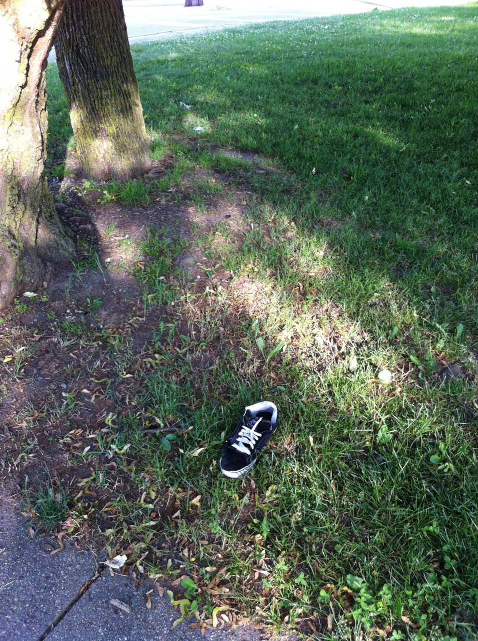 How do you lose just one shoe?