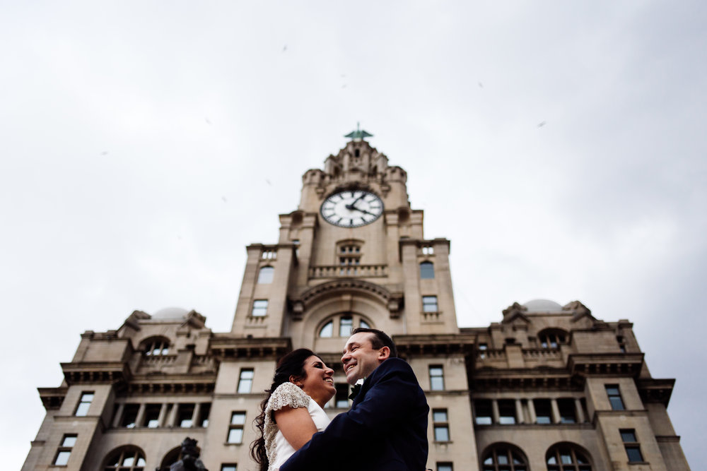 CAROLINE & CARL - The Venue, Royal Liver Building, Liverpool