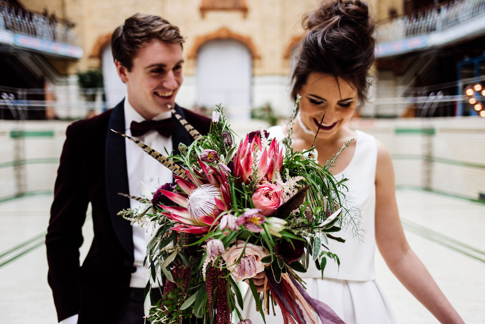 Alex and Sofya  - Victoria Baths, Manchester
