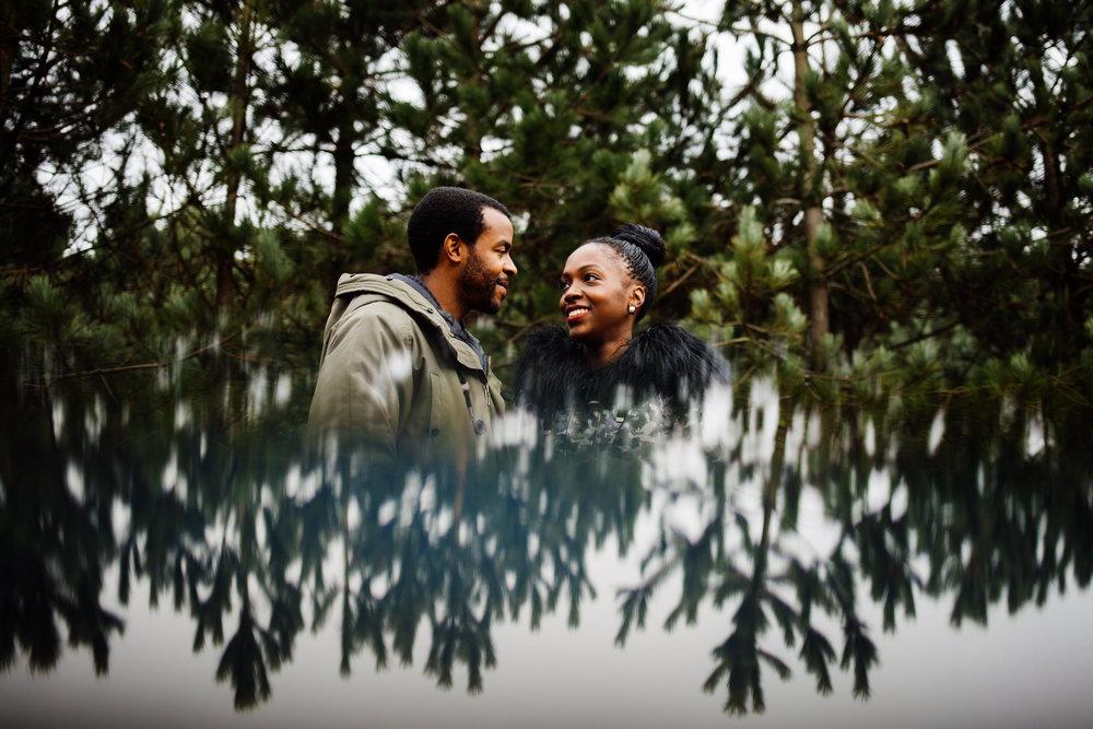 JANICE & RYAN - Formby PInewoods