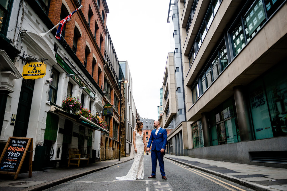 RACHEL & JACQUES - King Street Town House, Manchester City Centre